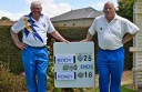 Camperdown's Gary Body, right, defeated Geoff Roney to win Corangamite bowls' singles title.