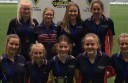A Trinity College Colac team won a state cricket title at the MCG. Pictured, from left, are Abby Park, Chelsea Wilson, Lily Smith, Beth Marwood. Front, Chloe Brown, Emma Hawker, Ella O'Brien, Alisha Montano and Jeremi Robinson.