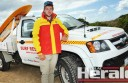 Apollo Bay Surf Lifesaving Club captain Josh Cooper, 18, is leading a young brigade of patrol volunteers at the Great Ocean Road town's beach this summer.