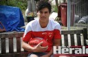 Sydney recruit Lewis Melican reflects at his Birregurra home on his whirlwind journey to the AFL club.