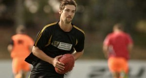 Meyrick Buchanan has registered to play with South Barwon in the GFL while training with Footscray in the VFL.