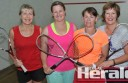 The Obos claimed Colac Ladies Daytime Squash's summer title after beating the Vaunos. Pictured, from left, are Sandra Fraser, Christy Rothery, Sharon Convey and Sue O'Brien.