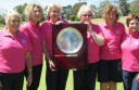 Colac golfers Jan Borwick,Dot Frith,Kay Gardiner, Maureen Shelton, Judy McNamara and Judy Bethune combined to win the Morton Perpetual Trophy with a strong performance.
