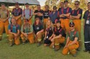 A Country Fire Authority District Six strike team  helped fight raging bushfires in South Australia last week.