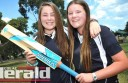 Colac cricketers Shannon Hillman and Claire Robertson will compete in Under-16 Female State Championships, starting today.