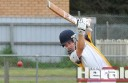 City United's Dylan Slater starred with the bat. The promising cricketer top scored with 52 runs in his side's big win over Irrewarra.