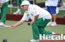 Ron Chapman and his Central teammates claimed a sixth straight win and knocked City off the top of the Corangamite bowls ladder.