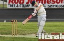 City United's Alex Inglis top scored with 56 runs to help secure his team to a Division Two grand final berth.
