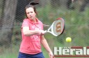 Forrest's Debbie Bell and her tennis teammates will meet Beeac tomorrow.