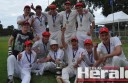 Alvie defeated Stoneyford to win Colac District Cricket Association's Division One grand final by 140 runs. Five teenagers played in the Swans' victory.