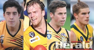 James Linton, Kane Leersen, Lachy Simpkin and Jack Berry have missed out on spots on Geelong's VFL list.