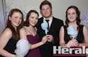 Colac's Rebecca Brown, Emily Marsh, Nick Richardson and Maddi Brown were among more than 190 people who attended the Longest Night Ball at the weekend. The ball supported Colac Area Health Foundation's Long Road Appeal.