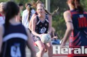 Colac Imperials netballer Rhiannon Whitson, pictured, and her teammates were too strong for Otway Districts. The Cats won 68-31.