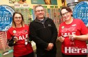 Colac Specsavers employees, from left, Meghan Spokes, Laurie Millard and Alana Crabbe and are set for the three-and-a-half-day Winter Walk-in Sale which starts today. Colac businesses are offering a range of discounts for shoppers from 9am today until noon on Saturday. Turn to page 13 of today's paper for a full list of participating businesses and their discounts.