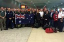 Victorian fire officers from a range of organisations flew to Sydney yesterday, before flying to Canada today to help work on firefighting efforts in Canada's western provinces.