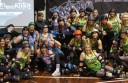 Colac district's Otway Growlers roller derby team, pictured, suffered their first loss of 2015 in a state-wide competition. The team lost to Glory, 164-203, at Melbourne's Knox Regional Netball Complex.