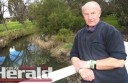 Arthur Watson would like to see improvements to Barongarook Creek.