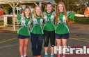 Colac basketballers, from left, Emma Hawker, Liesel Park, Asha Murnane and Lily Marwood are among people who have shown interest in playing in Colac's inaugural CBL women's team.