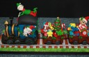 Colac's Nicole Everett spent about four weeks decorating a Christmas-themed train cake which won second place in the novice section at this year's Royal Melbourne Show.