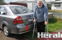 Colac resident Phillip Nagele says he's frustrated after vandals have targeted his car four times within four months.
