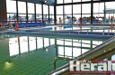 Bluewater's pools have water in them for testing.