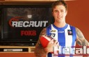 South Colac footballer Ben Cox, pictured, could hit television screens next year after he was shortlisted for national television show The Recruit.