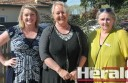 Colac Area Health youth development worker Emma Warton, Neighbourhood House co-ordinator Beverley Rimmer and Community House secretary Deborah Culton have teamed up to organise an expo showcase Colac's community groups. The expo is this Friday at Colac Otway Performing Arts and Cultural Centre.