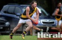 Simpson coach Adam Courtney says he does not expect star forward Jono Jennings, pictured, to return for the 2016 season.