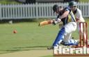 City United gun Josh Weatherhead blasted 41 runs to lead his team to a Twenty20 victory against Warrion on Wednesday.
