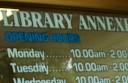 Library-annexe
