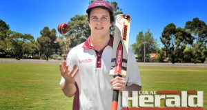 Stoneyford's James Menzies boasts Colac district's best batting average in the Division One competition in 2015-16.