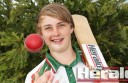 Up-and-coming Warrion cricketer Aidan Barrow made his Victorian Premier Cricket debut for Kingston-Hawthorn on Saturday.