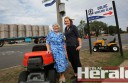 Ruth Spokes, with the support of Colac business people including Holt's Mowers and Gun Shop's Rebecca Stinchcombe, is calling on people to sign a petition asking the State Government to install traffic lights at Colac's Murray Street-Armstrong Street intersection. Ms Spokes says people have trouble crossing or turning into Murray Street at the site.