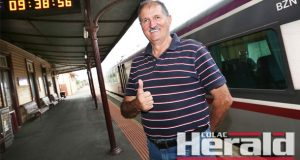 Colac Otway Shire mayor Frank Buchanan gave the thumbs up for the State Budget's inclusion of new weekday and Sunday train services to and from Colac.
