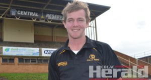 Colac recruit Matt Kenny has gone from strength to strength since making his senior debut three weeks ago. He is now eager to prove he belongs in the seniors.