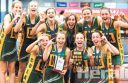 A CDFL Netball Association 17-and-under representative team celebrated a memorable debut season in the Barwon Junior Netball Championship by winning the grand final by a goal in overtime. See page 23 for a full wrap of Monday night's nail-biting win against the Geelong district.