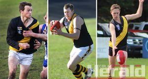 Star Simpson footballers Brenton de Jong, Mick Salmon and Nick Harding could all return from injury for the Tigers' contest with Birregurra after this weekend's bye.