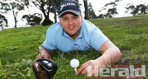 Colac's Max Miraglia will captain Victoria's 12-and-under golf team later this year.