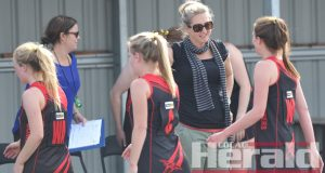 Departing Irrewarra-Beeac coach Sandra Robinson says the time is right for a new voice to lead the Bombers' top-grade netballers.