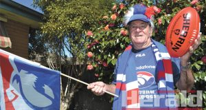 Colac's Roy Bentley hopes the Western Bulldogs can win their first premiership since 1954 tomorrow when they take on Sydney in the AFL grand final. Bentley was 8 when he attended the triumph 61 years ago.