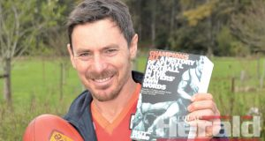 JOURNEY: Passionate Otway Districts football product Matt Zurbo took his love for the game to a new level, spending around three-and-a-half years speaking with 170 greats of the game to compile a book.