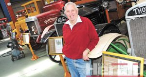 Colac's vintage truck collector Merv Brunt died this week but friends hope his wish is fulfilled and his collection will stay in Colac.